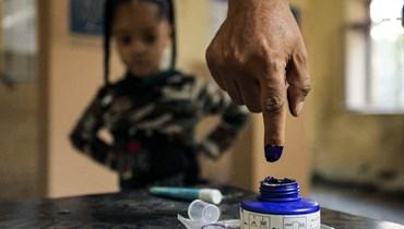 انتخابات في العراق (أ ف ب)