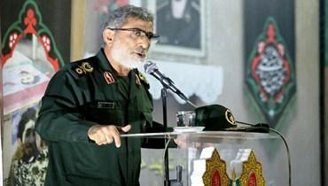 """قائد """"فيلق القدس"""" في الحرس الثوري الإيراني اسماعيل قآني"""