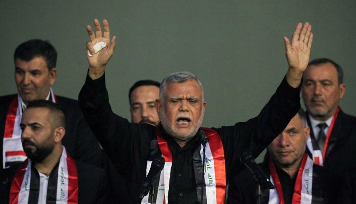 """زعيم تحالف """"فتح"""" هادي العامري"""