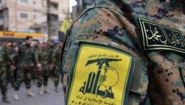 """عنصر من مقاتلي """"حزب الله"""""""