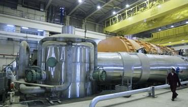 داخل منشأة نووية ايرانية