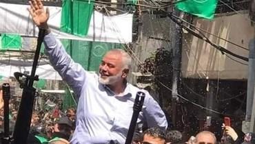"""زيارة هنيّة للبنان تكشف """"حماس"""""""