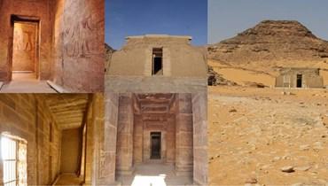 """""""عمدا"""" بجنوب أسوان... أقدم المعابد على بحيرة ناصر"""
