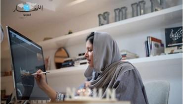 """المصممة السعودية نورا الفيصل لـ""""النهار العربي"""": عملي هو من وجدني"""